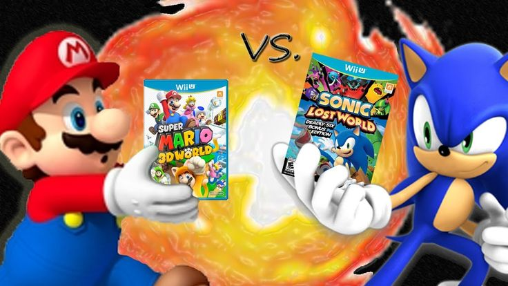 Which game do you like better? Super Mario 3D World or Sonic Lost World (2013).