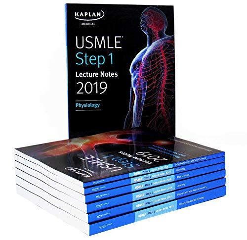 DOWNLOAD PDF] USMLE Step 1 Lecture Notes 2019 7Book Set Kaplan Test