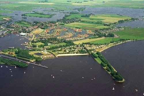 Part of the Sneekermeer in The Netherlands