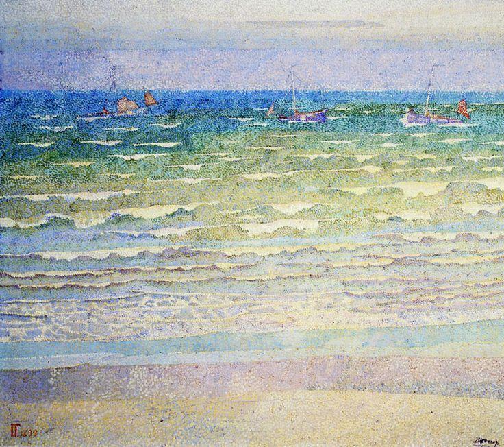 Jan Toorop - The sea