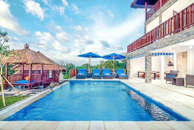 Villa Keluarga   4 bedrooms   Nusa Lembongan, Bali #swimmingpool #villa #bali #nusalembongan #ocean #view #exterior