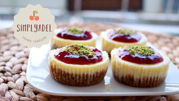 Meyveli Mini Cheesecake Tarifi   SimplYadel