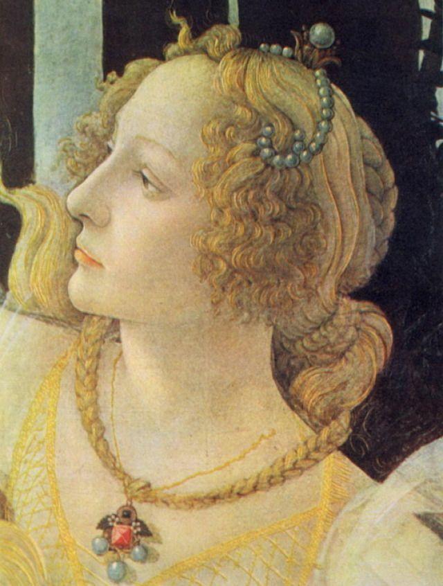 Allegory of Spring (detail), Sandro Botticelli, 1482