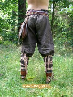 Viking Trousers… So much more comfy than modern …