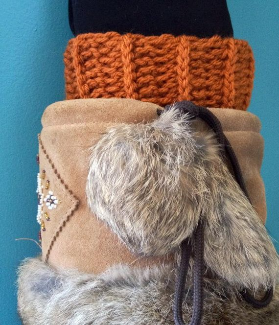 Crochet Ribbed Boot Cuffs Boot Toppers  Pumpkin by KnotSewKrazy, $23.99