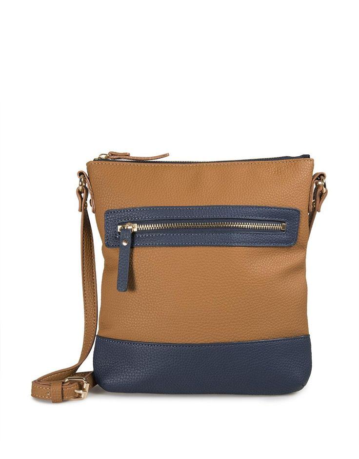 Pocket Trim Crossbody Bag