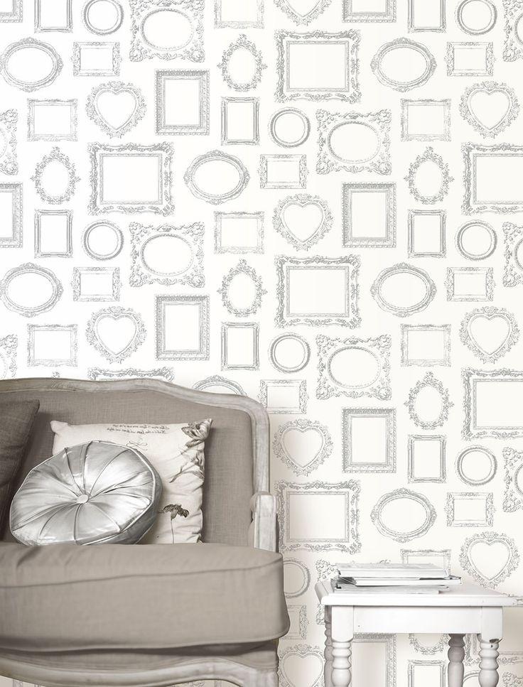 CONVERSATIONAL COLLECTION Wallpaper Pattern No E85219 – Aspiring Walls
