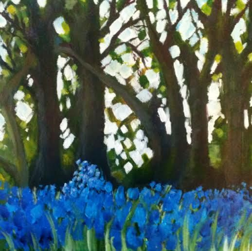 Blue bell wood  Acrylic