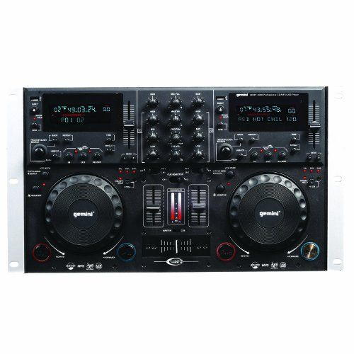 Gemini Dual CD MP3 USB Mixing Console. Scratch Buffer, Anti Shock Balanced Xlr Outputs. FREE DELIVERY $451.88