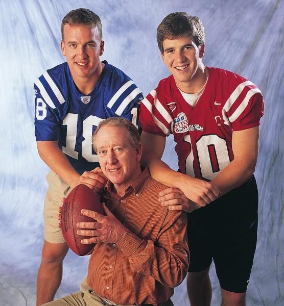 Archie Manning, Peyton Manning and Eli Manning