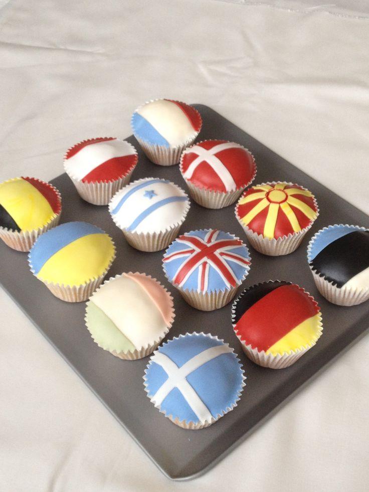Eurovision cupcakes!