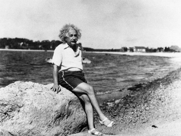 "Einstein absolutely despised socks and went without wearing them as often as possible. He saw them as pointless and inefficient, as they often ended up with holes, and he felt that shoes alone did the job of protecting one's feet. He once wrote to his second wife about how he ""got away without wearing socks"" while at Oxford."