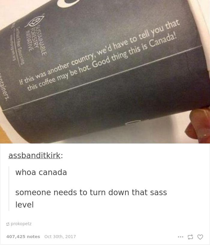 Canadian Coffee Cup