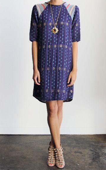 Ace & Jig Royal Sheath Dress   Penelope T Boutique