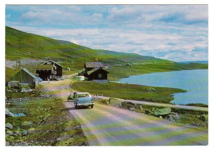 NORGE HAUKELISÆTER Foto: Løyning, Odda ca.1960