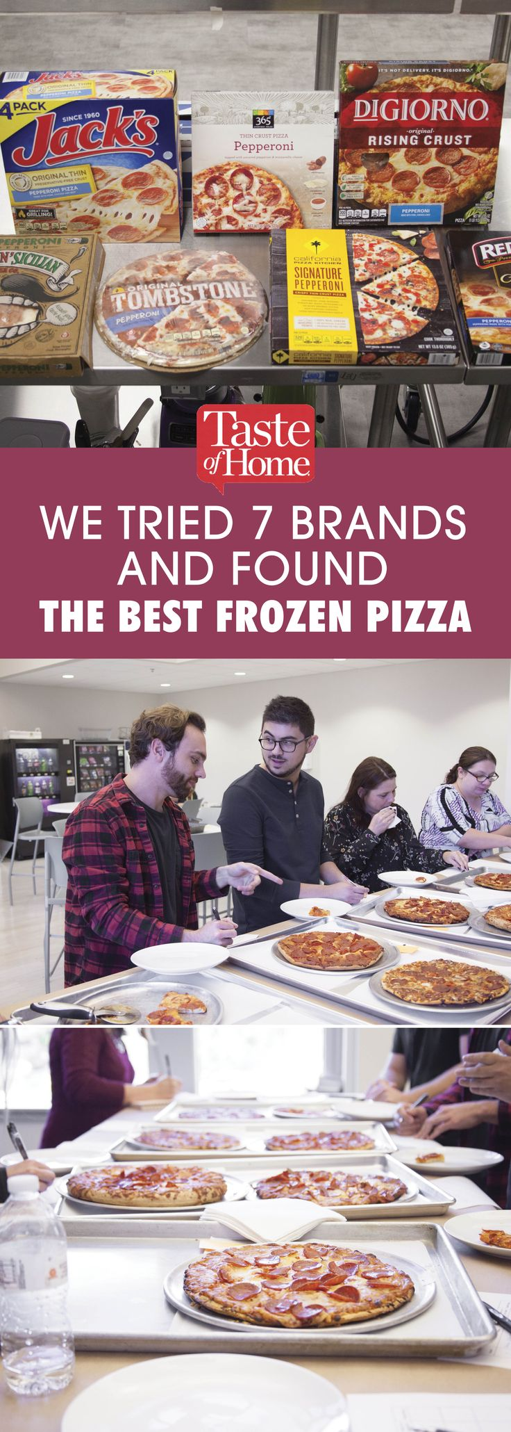 We Tried 7 Brands and Found the Best Frozen Pizza