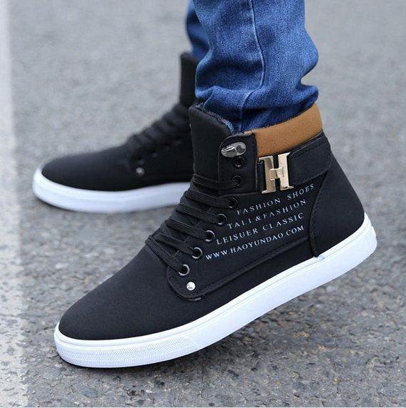 <b>New Men</b> Stylish Casual Flat Lase up Loafers by ShoppingPlazza ...