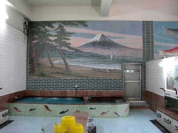 お風呂屋さん壁画 タイル絵を観賞してみる 銭湯 タイル
