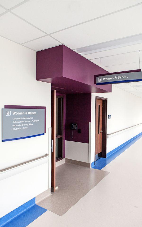 St. Catharine's Hospital - Wayfinding & Signage on Behance                                                                                                                                                                                 More