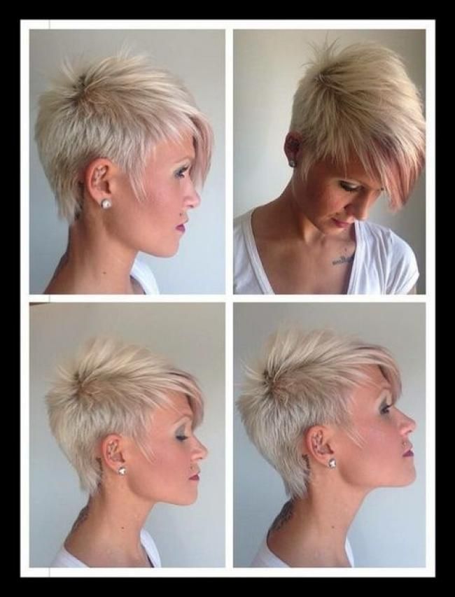 Coole kurzhaarfrisuren frauen 29 | HairDos in 29 | Short ...