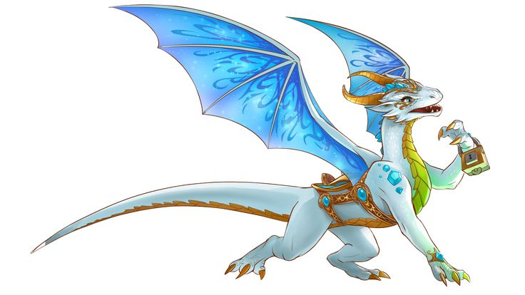 dragon on lego elves