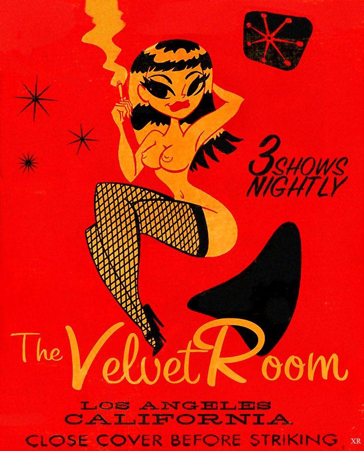 Velvet Room Matchbook Cover