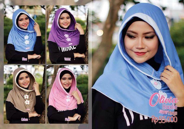 OLIVIA HOODIE #MiuLan Harga: Rp 55.000,-  Bahan : Kaos Hoodie instant dengan variasi kerut dan bunga di bagian dada yang membuat penampilan semakin menarik.  Pilihan warna : - Blue - Pinky - Coksu - Violet