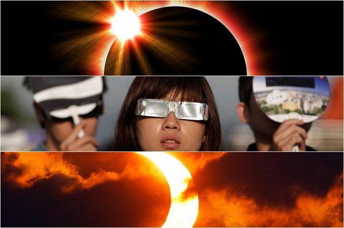 Cara Melihat Gerhana Matahari Total Yang Aman