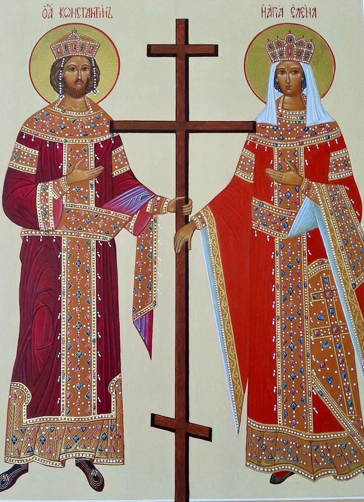 St. Constantine & St. Helen by Wicky Verbeek