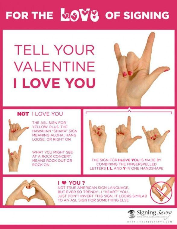 #Valentines Hand Symbol ,tell your girl/man to shut up and show your love with some sign language