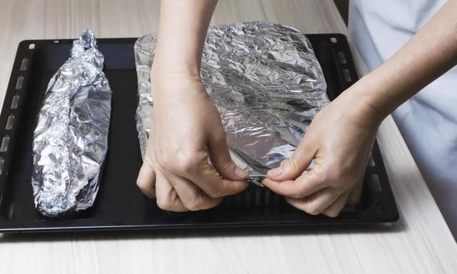How to Cook Frozen Fish in Foil - use this method with teriyaki glaze and vegetable noodles