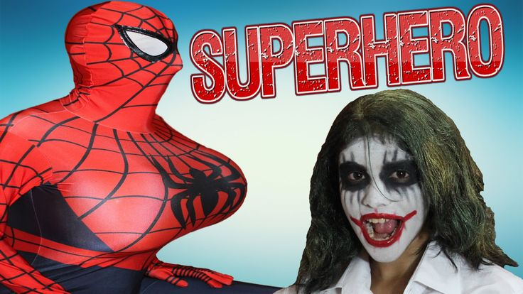 Spiderman Breast vs Joker w/ Pink Spidergirl Funny Prank Superheroes in ...
