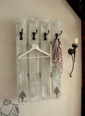 Schöne Garderobe Aus Altem Holz