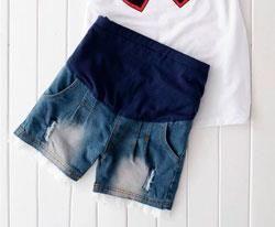 Сшить шорты для беременных