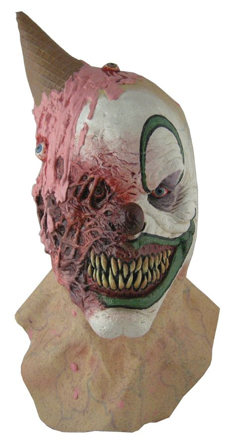 CLOWNS - EYE SCREAM CLOWN LATEX MASK - Tops Magic » Costumes and Magic for all Ages and Occasions