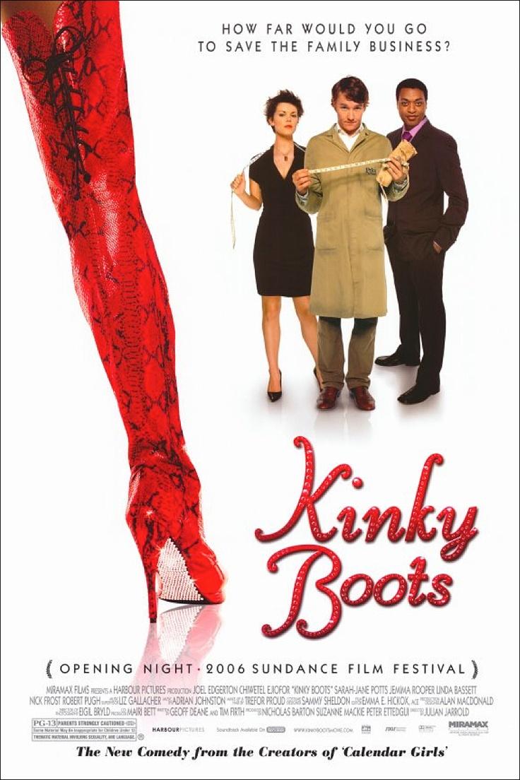 Kinky Boots (2005) starring Joel Edgerton, Chiwetel Ejiofor & Sarah-Jane Potts