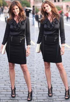 Синди Кроуфорд: Я никогда не считала себя модницей