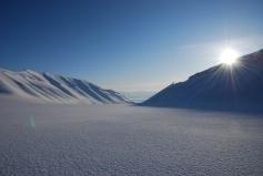 Omgeving en #landschap tijdens de #sneeuwscooter expeditie.