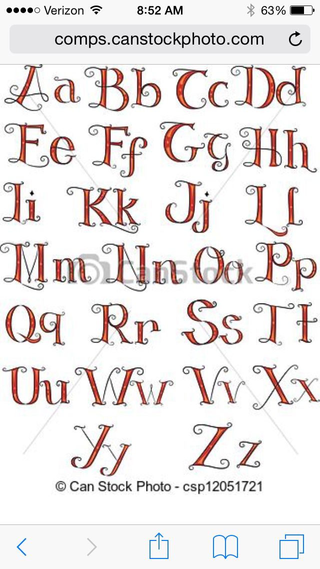 Hand Embroidery Alphabet Fonts