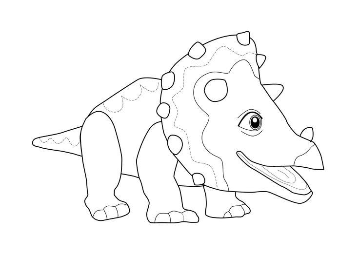 dinosaur coloring page for kids printable free dinosaur train toy jaden pinterest kid. Black Bedroom Furniture Sets. Home Design Ideas