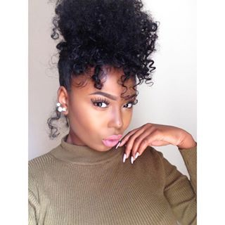 47 Best Afro Puffs Images On Pinterest Natural Hair