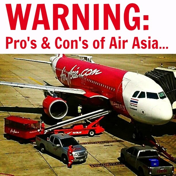 Why we will Never fly Air Asia Again: http://www.ytravelblog.com/the-good-and-bad-of-air-asia-x/