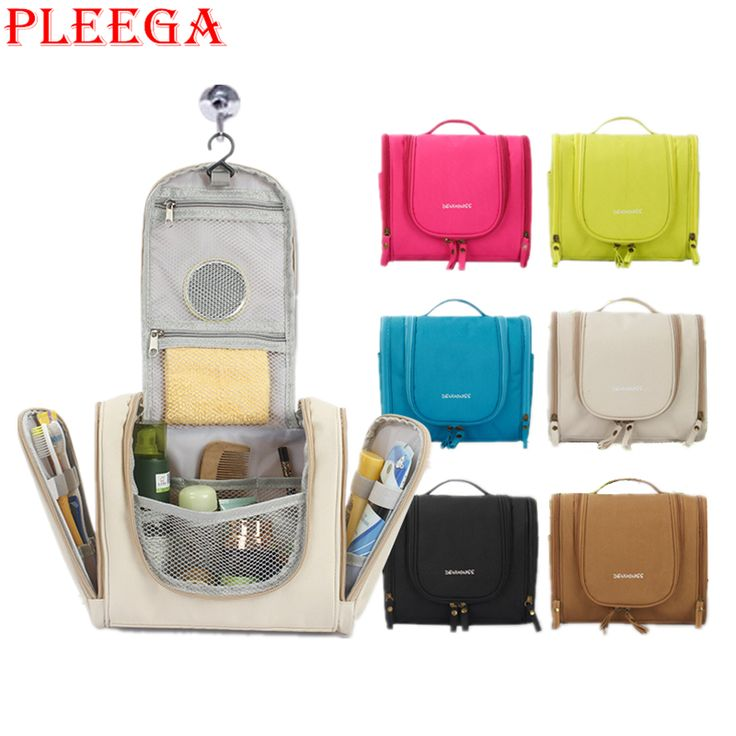 PLEEGA Brand New Women Cosmetics Bag High Quality Travel Hanging Travel Organizer Bag Multifunction Travel Hygiene Bag Wash Bags