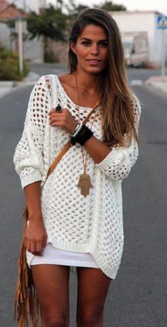 blusa tricot