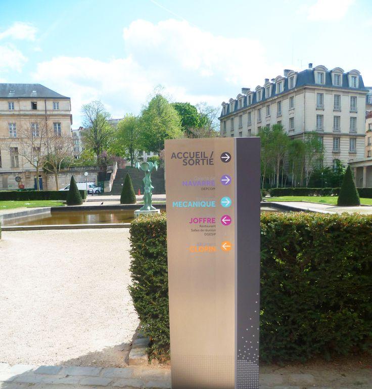 Ministère de l'Éducation Nationale de l'Enseignement Supérieur et de la Recherche (75) #signaletique #batiment #paris - DL System : www.dl-system.fr -