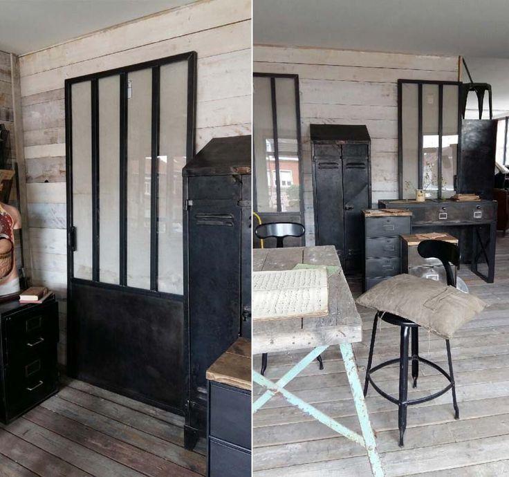 Tables basses mobilier industriel l 39 or du temps steel for L or du temps meuble industriel
