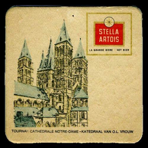 sous-bock vintage Stella Artois #tournai