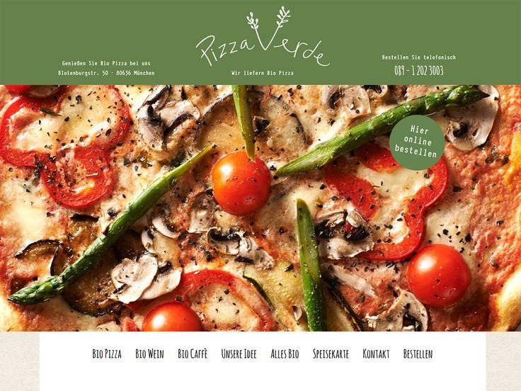 Neu Online: Bio Pizza iin München jetzt auch Onlinebestellung und Lieferung!