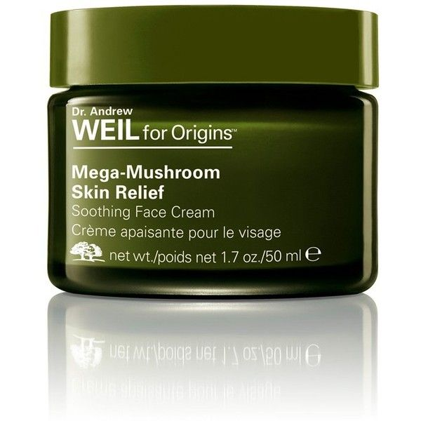 Women's Origins Dr. Andrew Weil For Origins Mega-Mushroom Skin Relief... ($65) ❤ liked on Polyvore featuring beauty products, skincare, face care, face moisturizers, no color, origins face care and face moisturizer