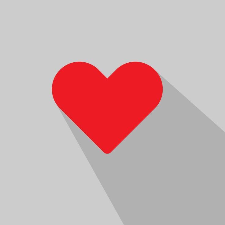 Heart Long Shadow Love – Freemocks
